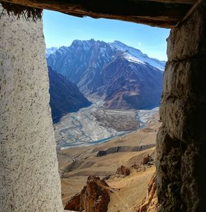 Spiti Valley- A cold desert.