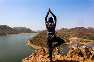 The famous bahubali hills