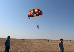 Parasailing - An experience of flying  @Jaiselmer