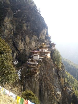 Tiger's Nest (Taktsang Monastery) -most iconic place in Bhutan