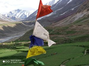 Last village near indo-tibet border-Mud Village