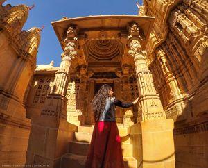 Jain Temples in Jaisalmer #RajasthanInPhotos
