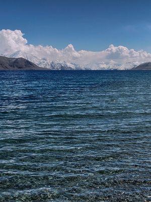 Colour of Pangong Tso,Ladakh