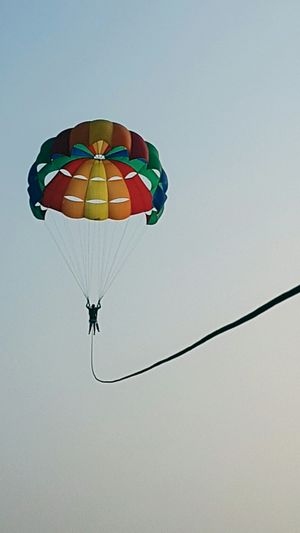 Parasailing! A must try water sport when u visit goa.....