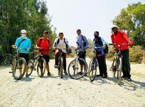 MTB Off-Road trip to eechur -Total coverage of 140kms-