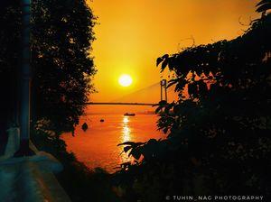 Princep ghat- a dazzling spot for romance