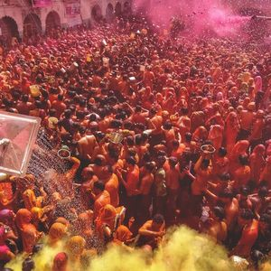Holi Celebrations (Huranga) in Mathura