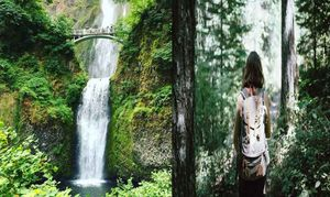 Women Survives Fall off a 50-foot Waterfall, Captures Everything on Video!