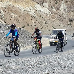 Our bicycle tour covering manali and ladakh.