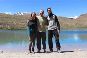 Chandra taal lake - moon lake, spiti