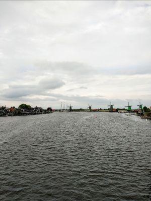 Iconic windmills of Netherlands