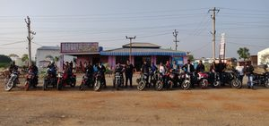 Bike Ride to Bidar - city of whispering monuments