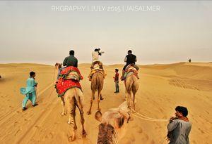 Thar desert jaisalmer Rajasthan