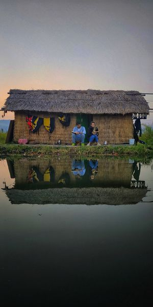 Life over Loktak Lake