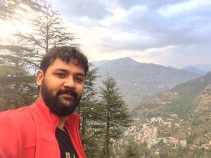 Consider it a 'teerth' to Tirthan Valley! :) #SelfieWithAView #TripotoCommunity