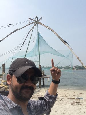 Chinese fishing nets: a piece of living history. #SelfieWithAView #TripotoCommunity