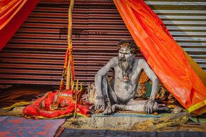'Naga Baba', The Naked Hindu Monks  | Ardh Kumbh Mela 2019, Prayagraj