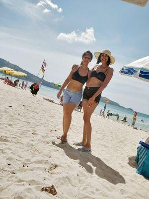 Sunbathe at the beach (Patong)