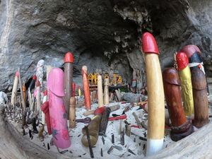 All you need to know about Wooden penises, Phra Nang cave shrine: krabi Thailand