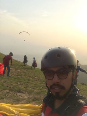 Panic right before the leap..Still miss that adrenaline rush #SelfieWithAView #TripotoCommunity