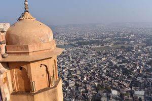 Jaipur-City full with pastels