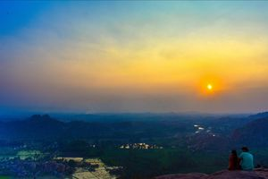 HAMPI-Empire of Mountains ,Paddy fields and The Ruins of the History