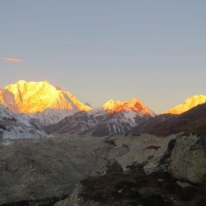 "Trek to the base camp of world third highest peak ""Mount Khanchenjunga"" . #northeastphotos"