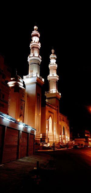 Beautiful mosque Mecca