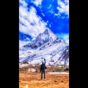 Tapovan the foot of shivling peak