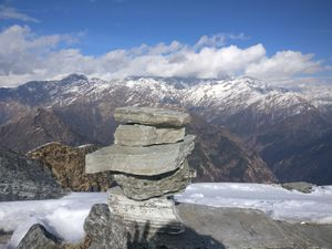 Chopta-Tungnath-Chandrashila in Jan 2019