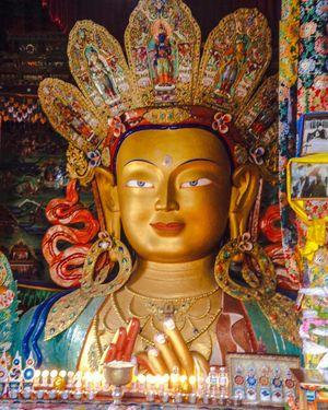 The 12- storeyed Monastery (Thiksey or Tiksey Ladakhi Monastery)