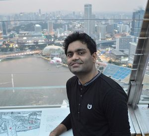 Atop marina bay sands! A frame that captured a gorgeous city and marked a start of many journeys