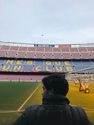 CAMP NOU: where everything is football