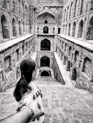 An ancient stepwell you must visit in Delhi