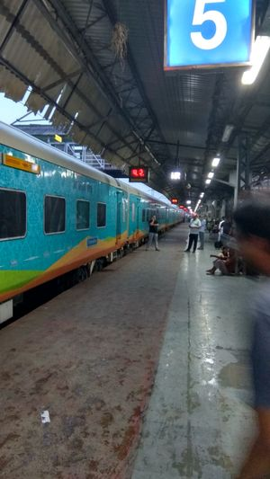 Train journey to Goa
