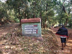 Solo Trekking, Dudhsagar Falls