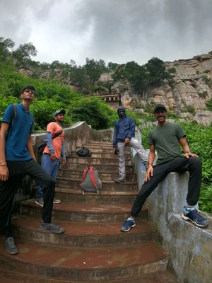 Road trip to Paraser Temple, Alwar