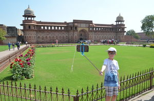 A morning at Agra Fort