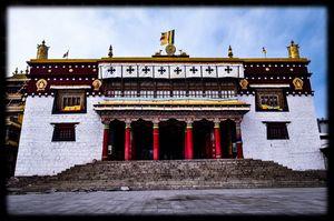 Litang monastery,litang county,sichuan,China.