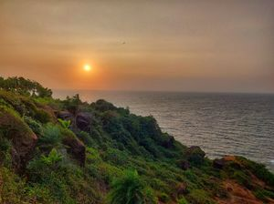 Sunset near Kudle beach