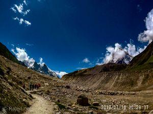 Gangotri Gaumukh tapovan trek (Harshil -Nelong valley)