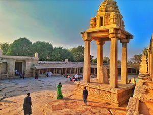 #Veerbhadra temple.... Lepakshi