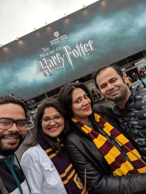 Reliving Harry Potter movie memories; a visit to Harry Potter studios London!