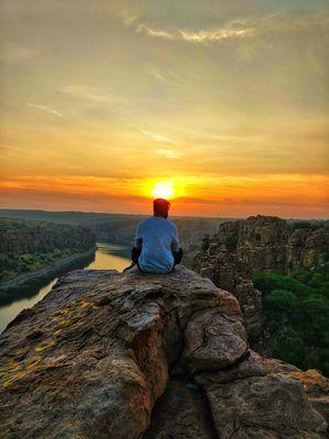 Peace at height - Gandikotha