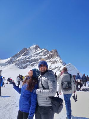 From the Top of Europe - Jungfraujoch!!