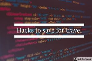 Secret Hacks you can use to save for your travel trip #anythingfortravel