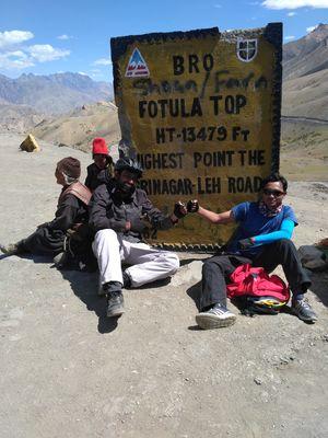 Srinagar-Leh Cycling Expedition