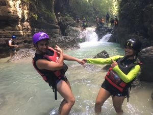 Finally we did it - Canyoneering in Cebu