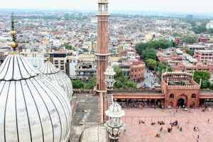 Jama Masjid from a different point of view.