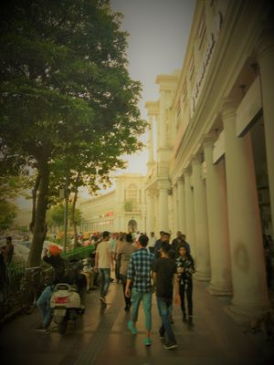 Witness the Life in Connaught Place